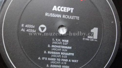 """21 Aprile 1986 - esce """"Russian Roulette"""" degli Accept"""