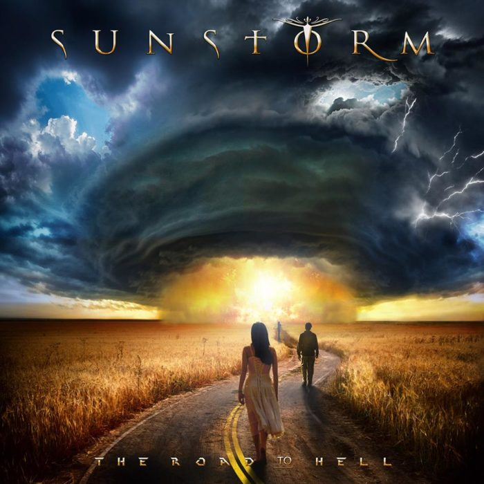 Sunstorm - The Road To Hell - Album Cover