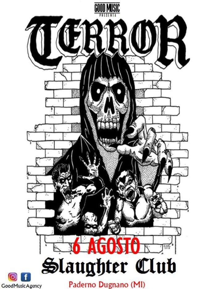 Terror - Slaughter Club - Live 2018 - Promo