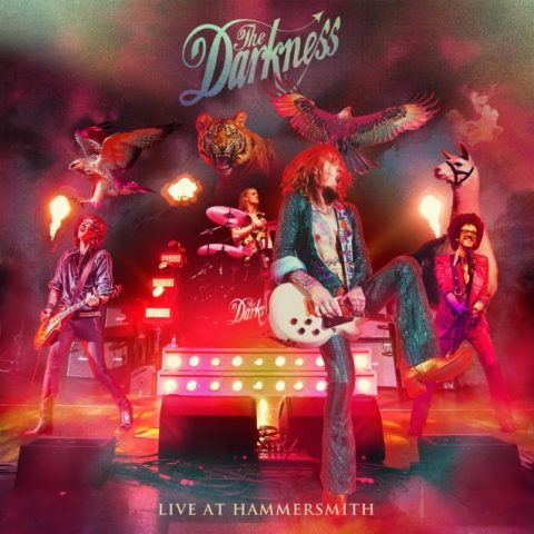 The Darkness - Live At Hammersmith - Album Cover