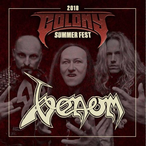 Venom - Colony Summer Fest 2018 - Promo