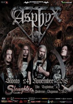 Asphyx @ Milano @ Slaughter Club