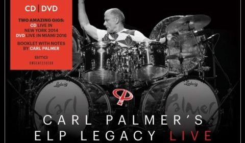 Carl Palmer - Carl Palmer' s ELP Legacy Live - Album Cover