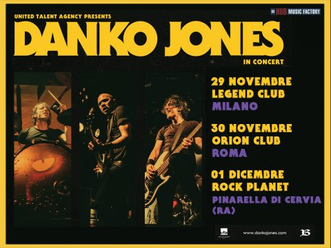 Danko Jones - Italian Tour 2018 - Promo