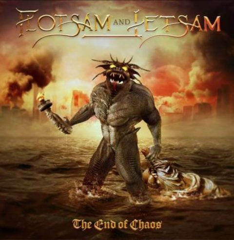 Flotsam And Jetsam - The End Of Chaos - Album Cover