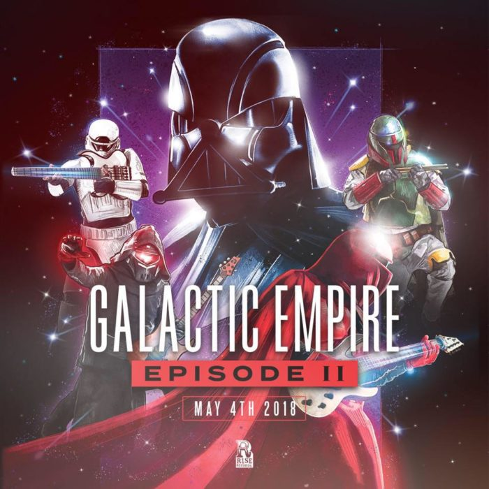 Galactic Empire - Episode II - Album Cover