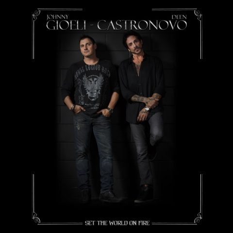 Gioeli - Castronovo - Set The World On Fire - Album Cover
