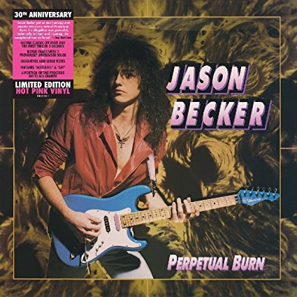 Jason Becker - Perpetual Burn - Album Cover