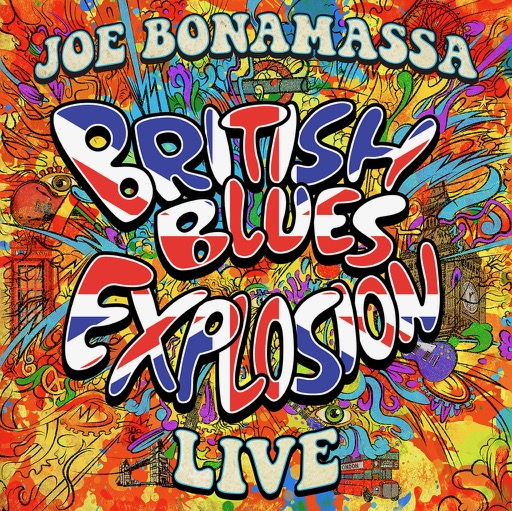 Joe Bonamassa - British Blues Explosion Live - Album Cover
