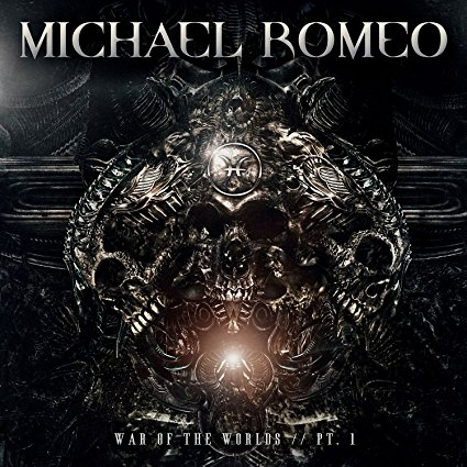 Michael Romeo - War Of The Worlds Pt 1 - Album Cover