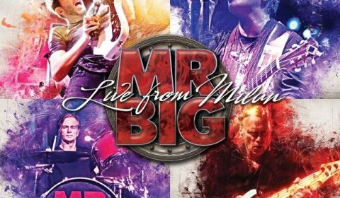 Mr Big - Live From Milan - Album Cover