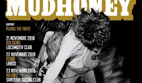 Mudhoney - Ialian Tour 2018 - Promo