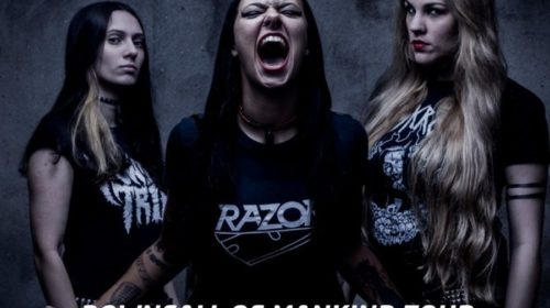 Nervosa - Circolo Svolta - Downfall Of Mankind - Tour 2018 - Promo