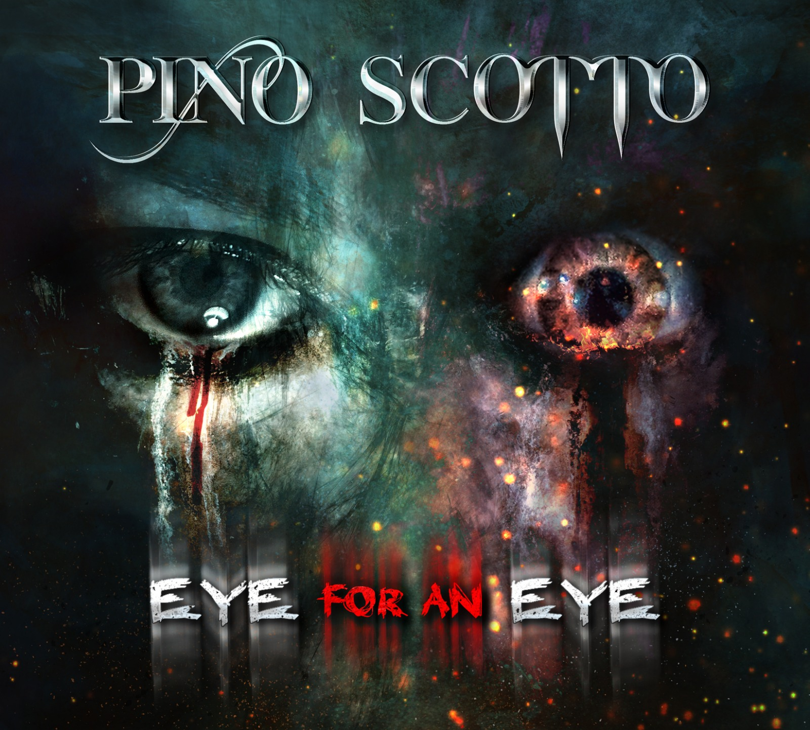 Pino Scotto - Eye For An Eye 2018 front album
