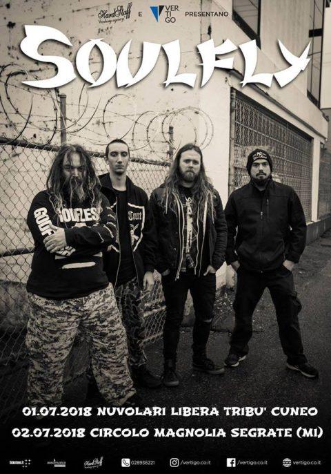 Soulfly - Tour 2018 - Promo