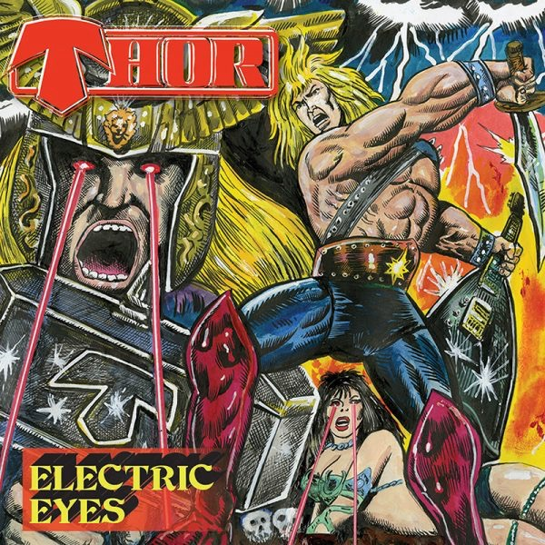 Thor - Electric Eyes - Album Cover