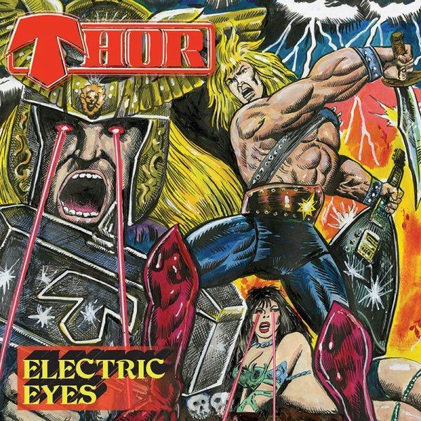 Thor - Electric Eyes - Album Cover