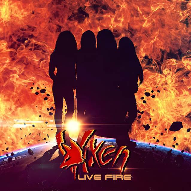 Vixen - Live Fire - Album Cover