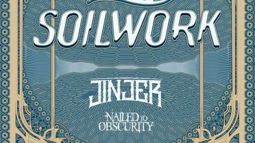 Amorphis - Soilwork - Jinjer - Nailed To Obscurity - Live Music Club - European Tour 2019 - Promo