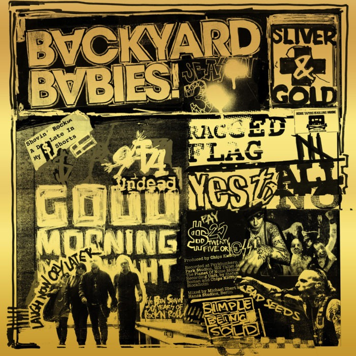 Backyard Babies - Silver & Golds - Album Cover