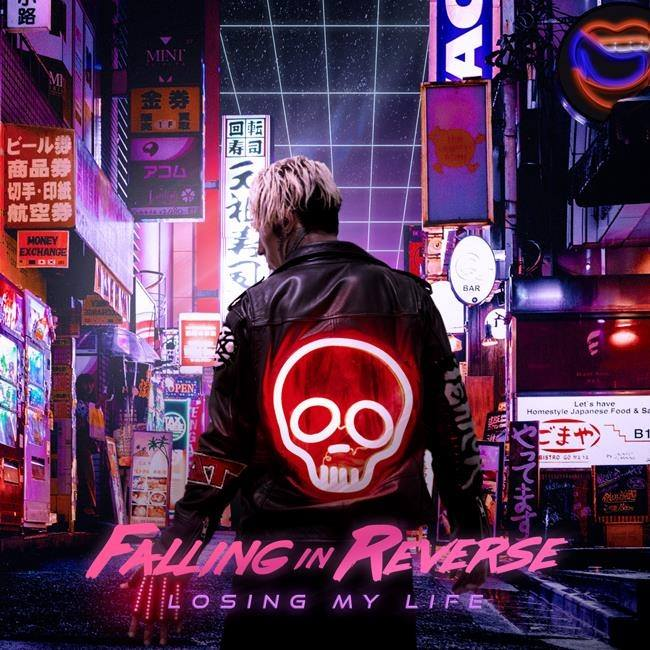 Falling In Reverse - Losing My Life - Single Cover