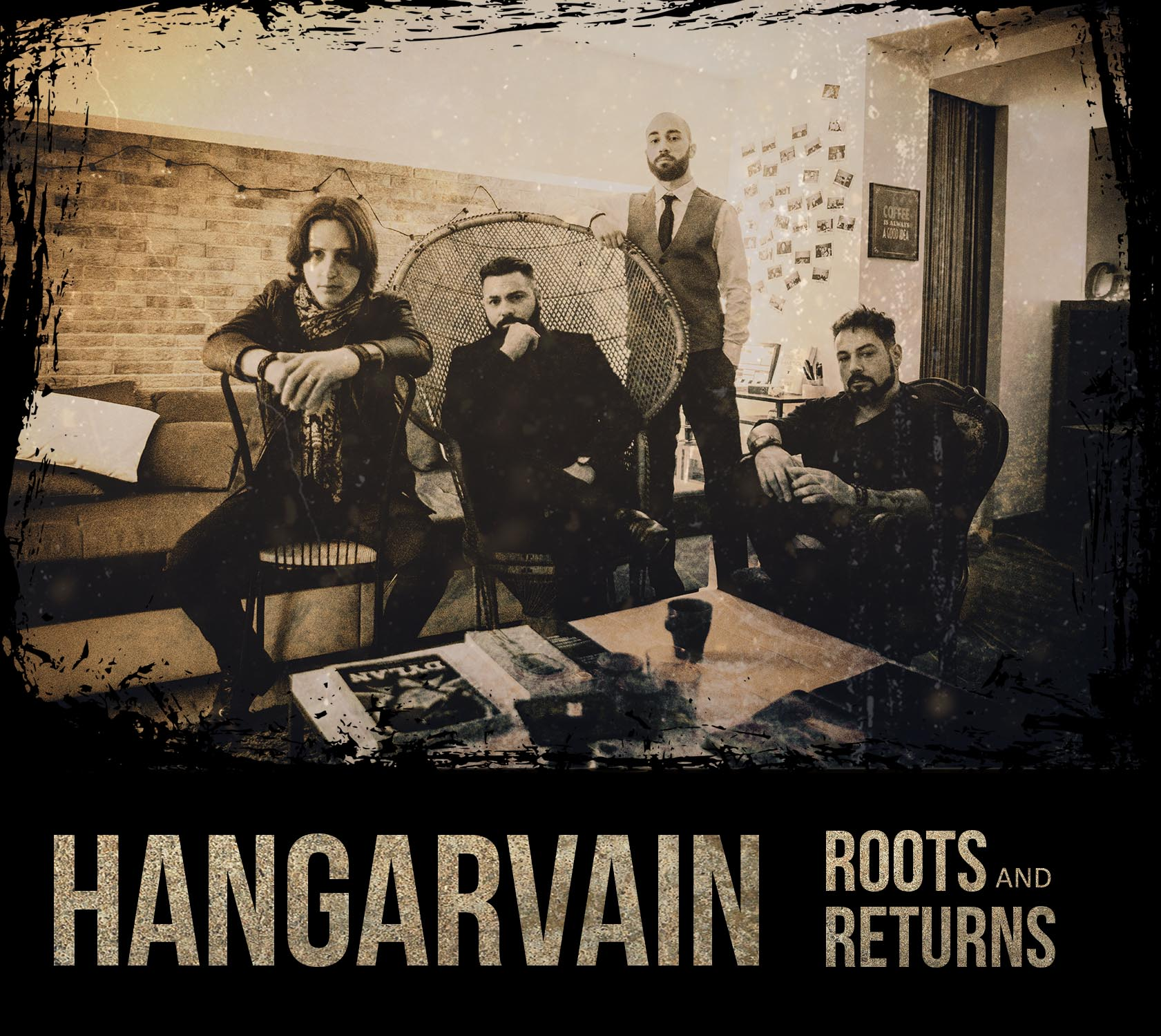 Hangarvain - Roots And Returns - Album Cover