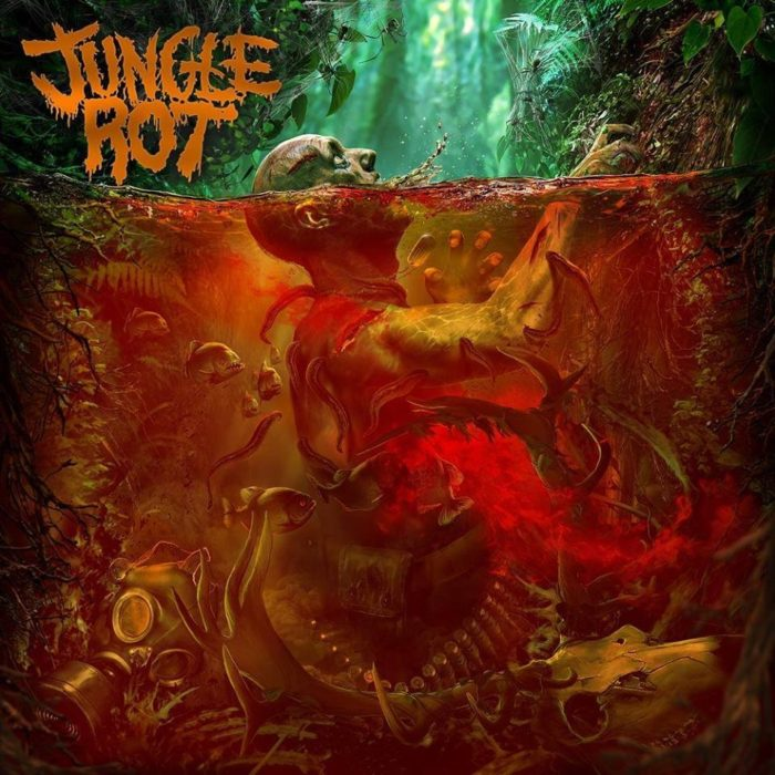 Jungle Rot - Jungle Rot - Album Cover