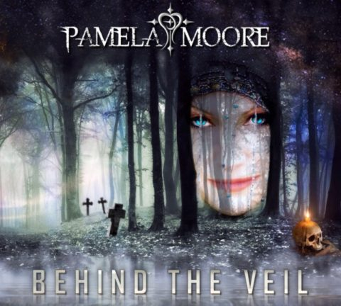 Pamela Moore - Behind The Veil - Album Cover