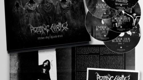 Rotting Christ - Under Our Black Cult - Box Set Cover