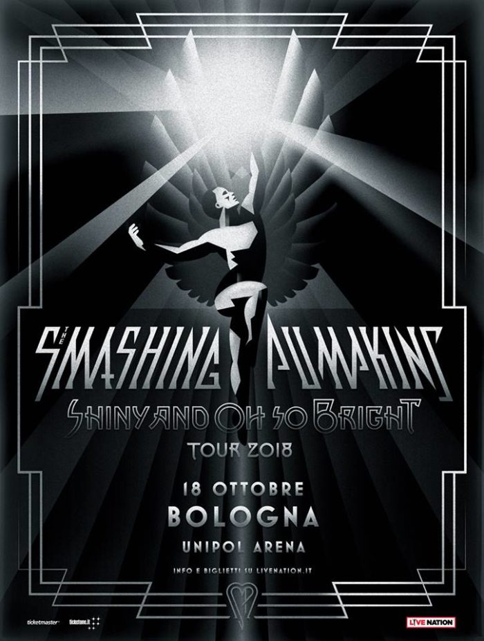 Smashing Pumpkins - Unipol Arena - Shiny And Oh So Bright - Tour 2018 - Promo