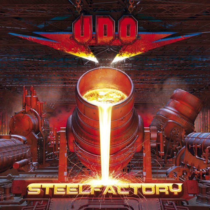 Udo - Steelfactory - Album Cover