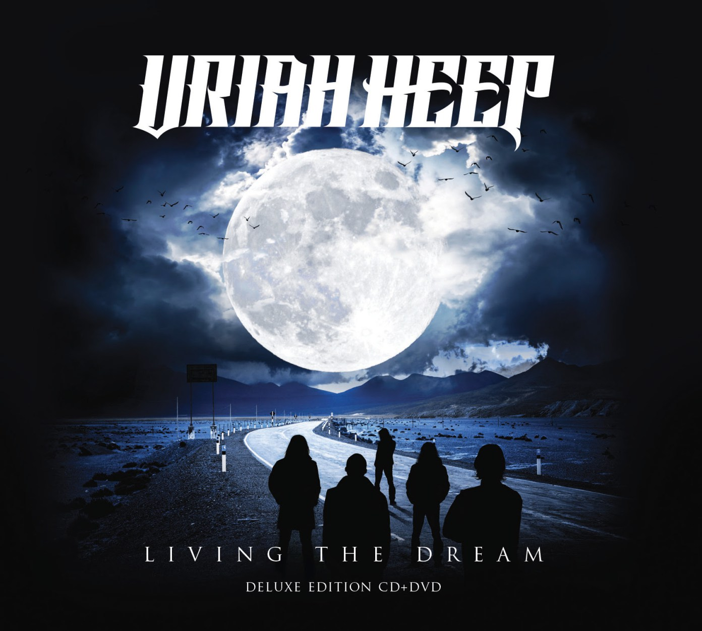 Uriah Heep - Living The Dream - Album Cover