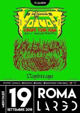 Voivod - 3 date in Italia a settembre 2018
