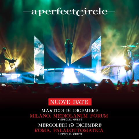 A Perfect Circle Tour 2018 - Promo