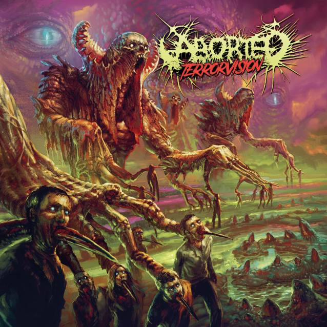Aborted - Terrorvision - Album Cover