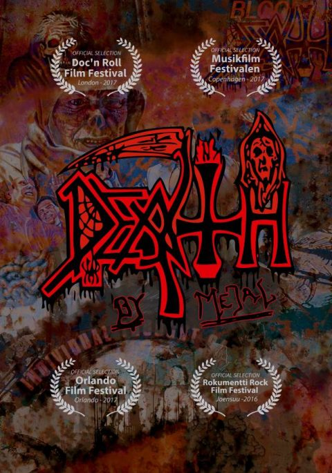 Death - Death By Metal - DVD Cover