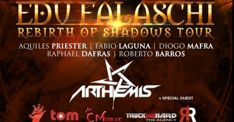 Edu Falaschi - Arthemis - Arci Tom - Rebirth Of Shadows Tour 2018 - Promo
