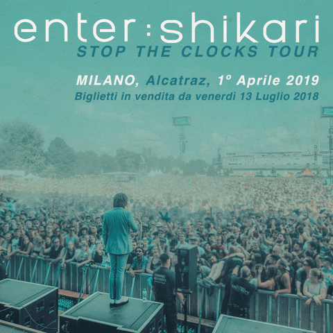 Enter Shikari - Alcatraz - Stop The Clocks Tour 2019 - Promo