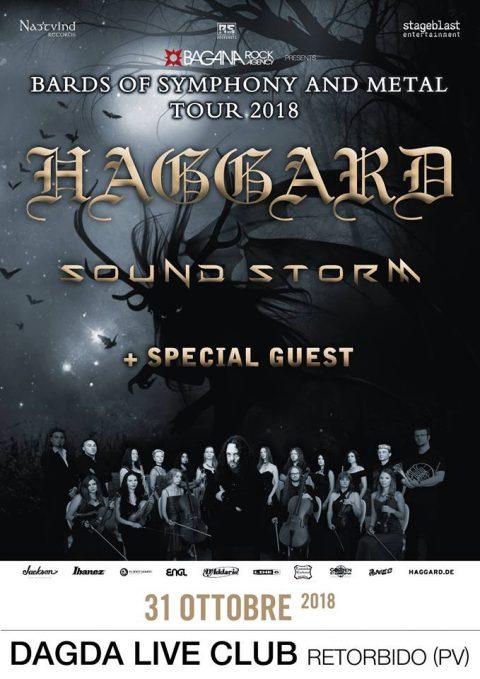 Haggard - Sound Storm - Dagda Live Club - Bards Of Symphony And Metal Tour 2018 - Promo