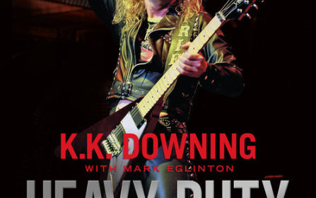 K K Downing - Heavy Duty Days And Nights In Judas Priest - Book Cover
