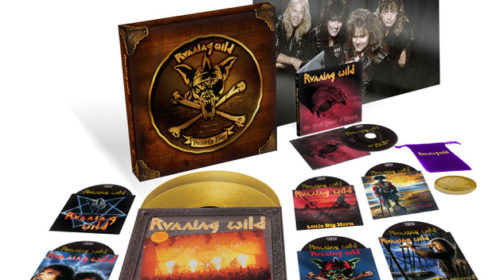 Running Wild - Pieces Of Eight - Boxset Cover