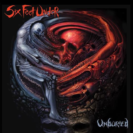 Six Feet Under - Unburied - Album Cover