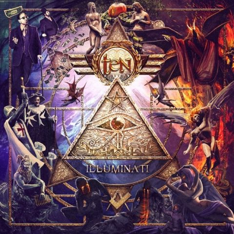 Ten - Illuminati - Album Cover