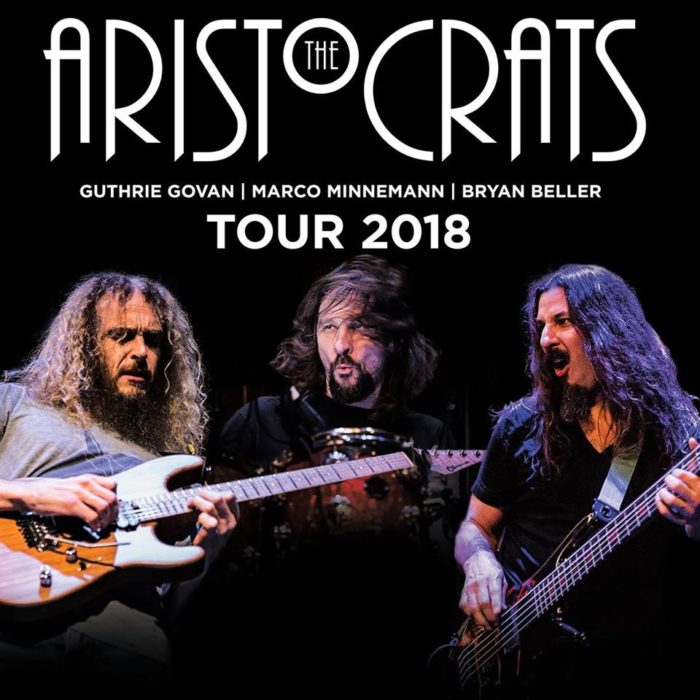 The Aristocrats - Tour 2018 - Promo