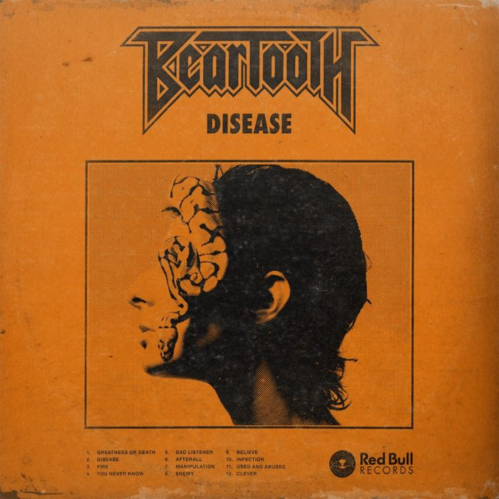 Beartooth - Disease - Album Cover