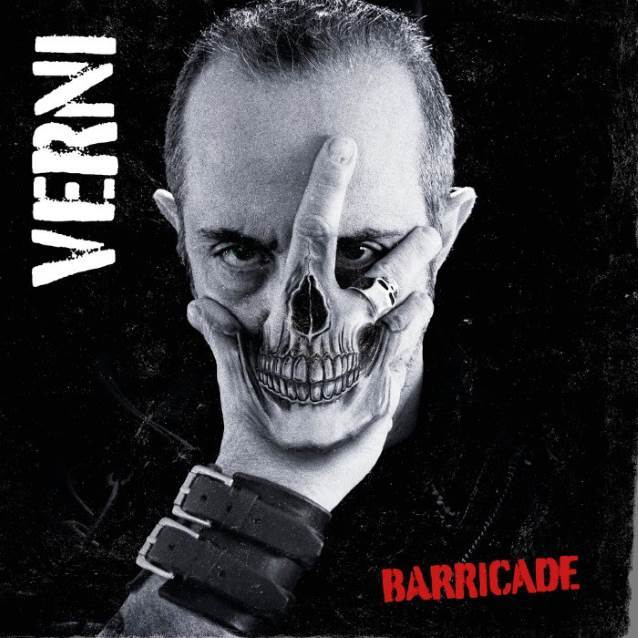 DD Verni - Barricade - Album Cover