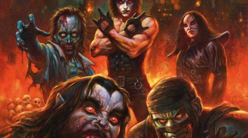 Death SS - Rock N Roll Armageddon - Album Cover
