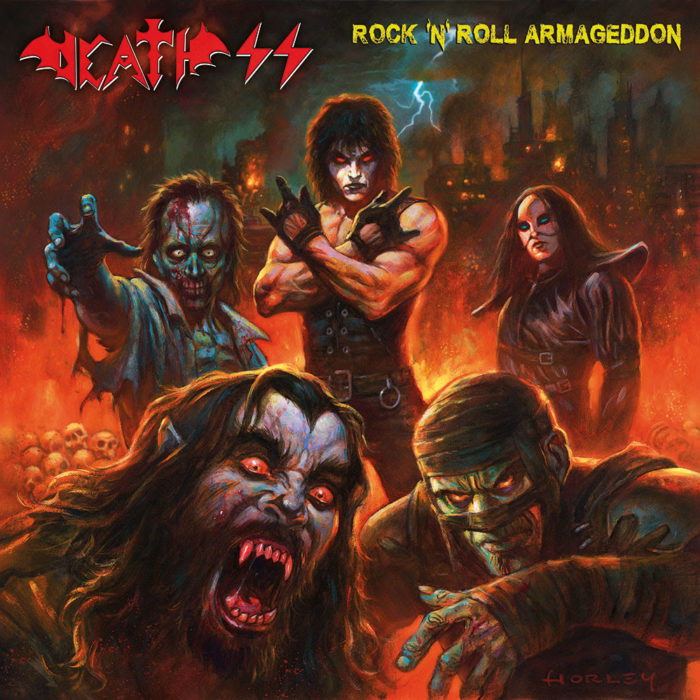 Death SS - Rock N Roll Armageddon - Album Cover
