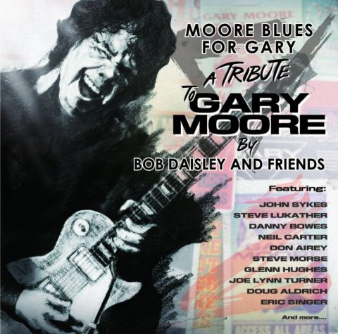 Gary Moore - Moore Blues For Gary - A Tribute For Gary Moore - Album Cover