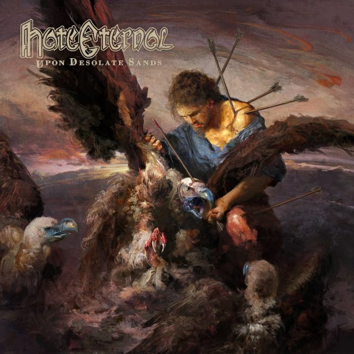 Hate Eternal - Upon Desolate Sands - Album Cover